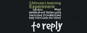 5 Minute Listening Experiment