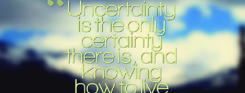 Uncertainty Quote